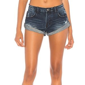 "One Teaspoon Bandit shorts in color ""Lone Star"""